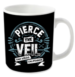 Tasse Pierce the Veil San Diego California