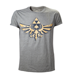 T-Shirt Zelda, Vintage Triforce Logo