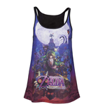 T-Shirt Zelda - Majora's Mask - Sublimation Top Frauen