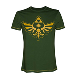 T-Shirt Zelda,  Stitched Triforce