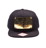 Kappe Zelda - Snap Back Cap - Golden Triforce Plate