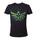 T-Shirt Zelda grunes Triforce Logo