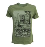 T-Shirt Ninja Turtles - City Mann in grun