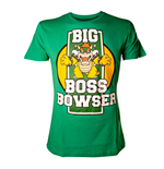 T-Shirt Nintendo - Big Boss Bowser grun