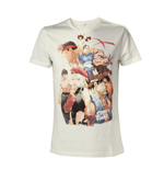 T-Shirt Street Fighter - Character Roster