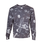 Sweatshirt Star Wars - T Fighter Sweater