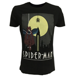 T-Shirt Spiderman Up side Down