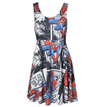 Kleid Spiderman Kleid