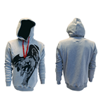 Sweatshirt Spiderman - in grau. Crawling