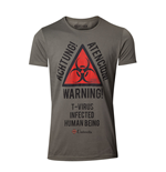 T-Shirt Resident Evil  - Biohazard Warning