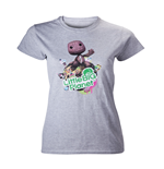 T-Shirt Little Big Planet  - in Grau Melamge - Girls