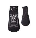 T-Shirt Jack Daniel's - Tanktop Wider Longer mit Frontprint - Frauen
