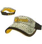 Kappe Corona - Straw & Brown Mesh