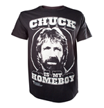 T-Shirt Chuck Norris  - Chuck is my Homeboy