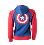 Sweatshirt Captain America - Shield Logo fur Frauen