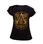 T-Shirt Assassins Creed Movie - Women's Crest Logo