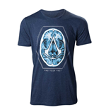 T-Shirt Assassins Creed - Find Your Past Brain Crest
