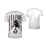 T-Shirt Assassins Creed  III - Burned Flag