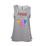 T-Shirt Adventure Time - Top mit Finn, Jake und Prices Bubblegum
