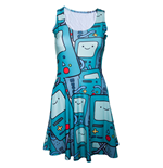 Kleid Adventure Time - Beemo All Over Printed Kleid