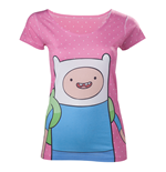 T-Shirt Adventure Time - Finn mit Dots