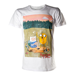 T-Shirt Adventure Time - Finn and Jake in weiss