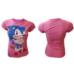 T-Shirt Sonic the Hedgehog - Frauen