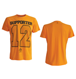 T-Shirt KNVB 12. in orange.