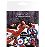 Brosche The Who  240366