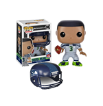 NFL POP! Football Vinyl Figur Russell Wilson (Seattle Seahawks) 9 cm