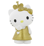 Hello Kitty Minifigur Hello Kitty Gold 6 cm
