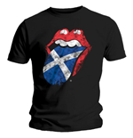 T-Shirt The Rolling Stones Scotland Tongue