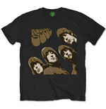 The Beatles T-Shirt für Männer - Design: Rubber Soul Sketch