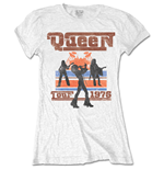 T-Shirt Queen 1976 Tour Silhouettes
