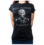 T-Shirt Iron Maiden Ladies Fasion: The Book of Souls