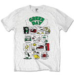 T-Shirt Green Day Dookie RRHOF