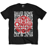 T-Shirt David Bowie Live in Japan
