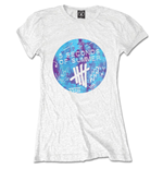 5 seconds of summer T-Shirt für Frauen - Design: Tie-Dye Scribble Logo