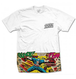 T-Shirt Captain America Comic Dtrip Pocket