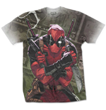 T-Shirt Deadpool Marvel Comics Premium Cash