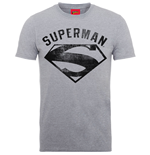 T-Shirt Superman Logo Spray - Mann