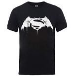 Superman T-Shirt für Männer - Design: Batman v Superman Beaten Logo