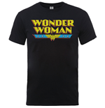Wonder Woman T-Shirt für Männer - Design: Wonder Woman Logo Crackle