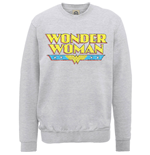 Sweatshirt Wonder Woman Logo Crackle