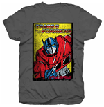 T-Shirt Transformers Optimus Prime Comic