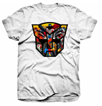 Transformers T-Shirt für Männer - Design: Transformers Autobot Shield Montage