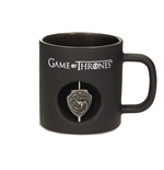 Game of Thrones Tasse 3D Rotating Logo Targaryen Black Crystal