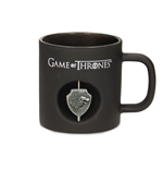 Game of Thrones Tasse 3D Rotating Logo Stark Black Crystal