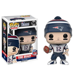 NFL POP! Football Vinyl Figur Tom Brady (New England Patriots) 9 cm
