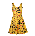 Kleid Pokémon - all Over Pikachu Kleid
